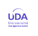 Logo du partenaire UDA en bleu