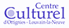 Logo du partenaire Centre Culturel d'Ottignies-Louvain-la-Neuve en bleu